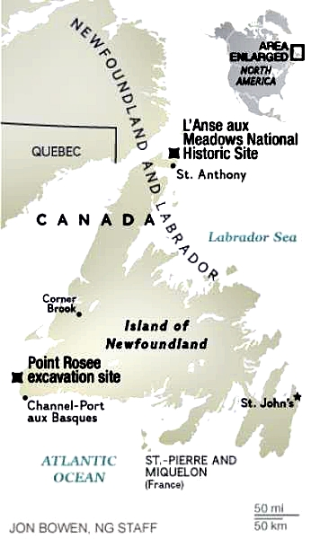 New Viking Site in Newfoundland