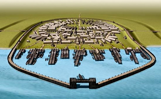 Graphic reconstruction of Jomsborg