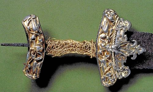 Magnificent English sword found in Scania