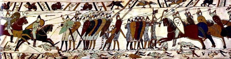 Cavalry on the Bayeux Tapestry