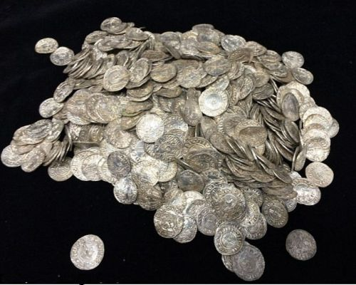 Treasure with 5,248 silver coins from Æthelred the Unready's time