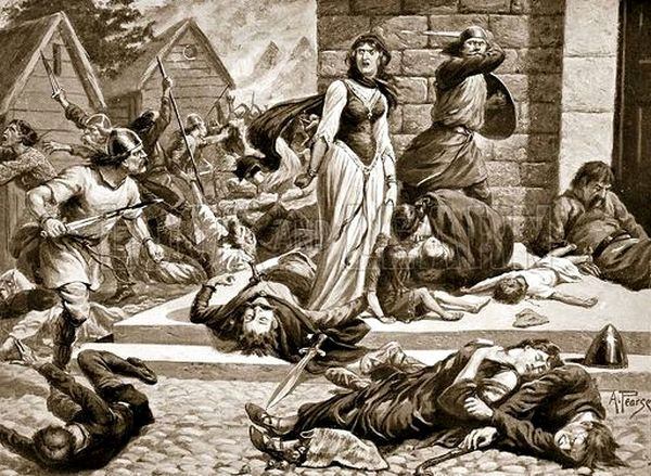 The Massacre of St. Brices Day