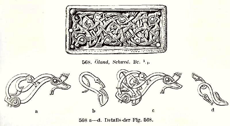 Salins graphical analysis of animal ornament from Oland