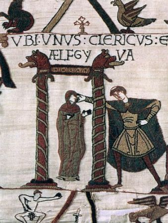 The mysterious woman on the Bayeux Tapestry