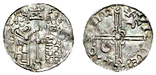 Coin minted in Lund by Svend Estridsen