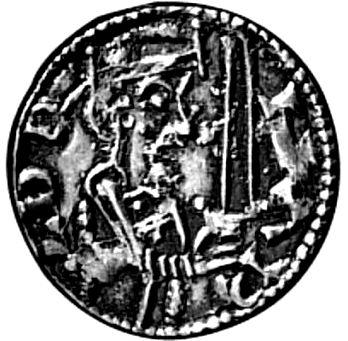 Coin issued by Harald Hen