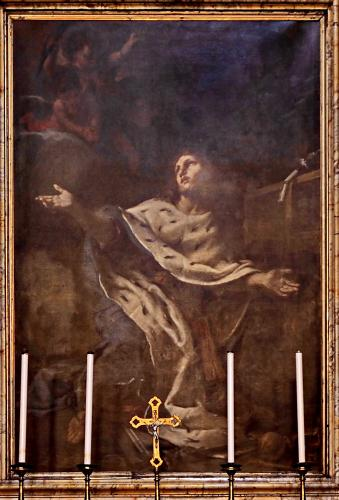 Daniel Seiter's in San Canute's chapel in Rome