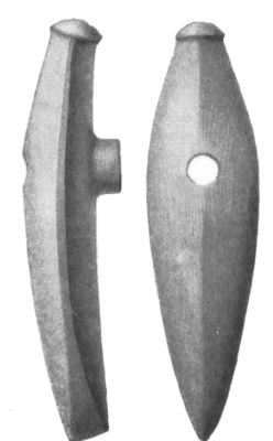 Bådøkse with shaft hole from Nordisk Familjebok