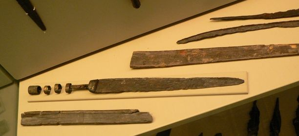 Swords from Hjortspring Mose