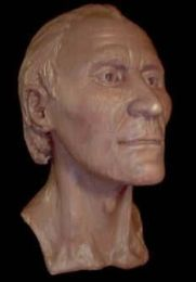 Reconstruction of the  Grauballe man's face