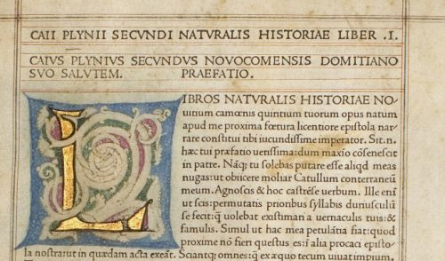 Plinius the elder - Naturalis Historia