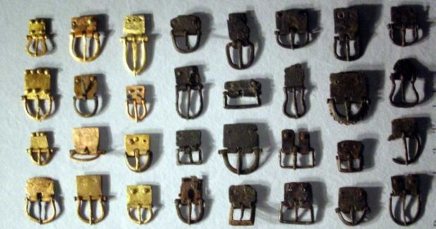 Belt Buckles from Illerup Ådal