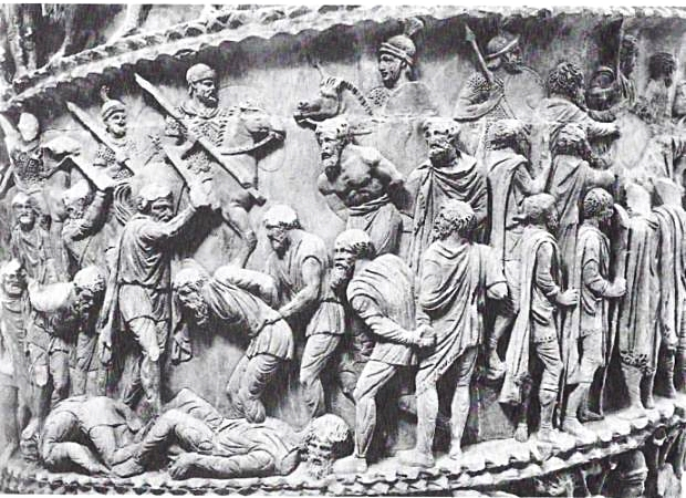 The Marcus Aurelius column