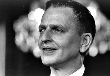 Olof Palme as a young man