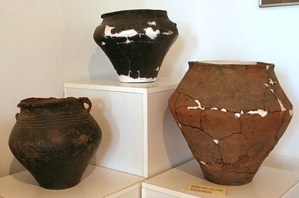Keramics from the  Wielbark culture