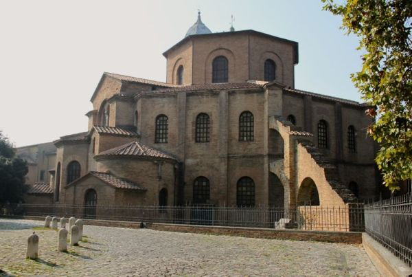 The church San Vitale in Ravenna