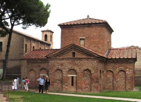 Galla Placidia's Maosoleum in Ravenna