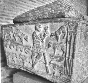 Sarcophagus from the kingdom Toulouse