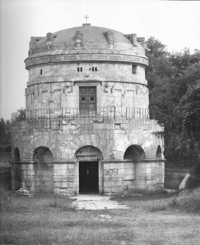 The maosoleum of Theodoric the Great in Ravenna