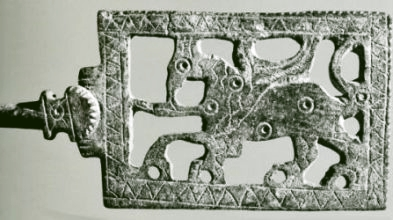 Gothic belt buckle found at Revel in Haute Garonne