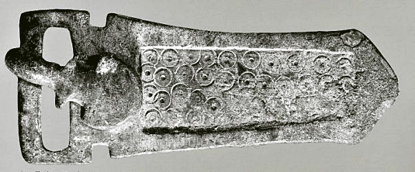 Gothic belt buckle found at Toulouse
