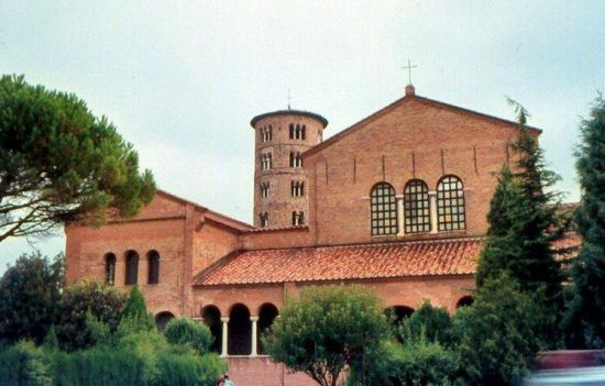 Basilica of Sant'Apollinare Nuovo in Ravenna