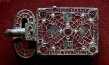 Gothic belt buckle from Italy or Spain