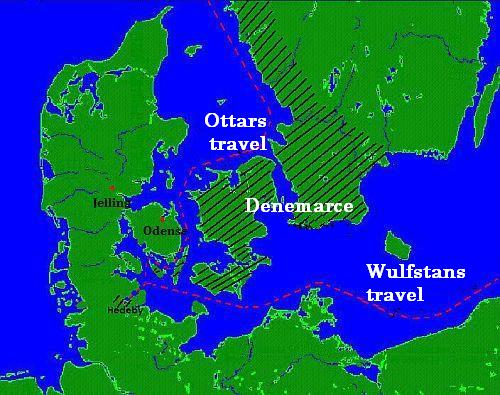 Ottar's and Wulfstan's travels