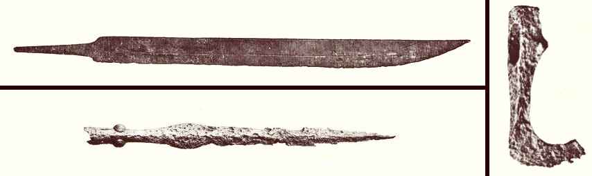 Weapons from Germanic Iron Age
