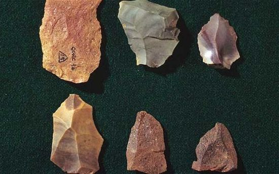 Neanderthal stone  tools found in Cibraltar