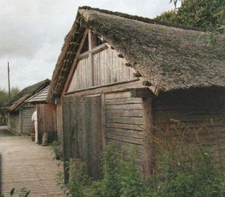 Reconstruction of a Slawic house