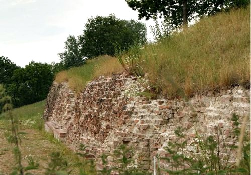 The Valdemar-wall in the defence dike Danevirke