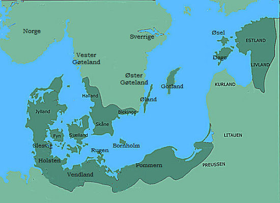The kingdoms of the danish kings in the age of the Valdemars