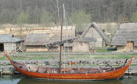 Reconstruction of Wendish ship