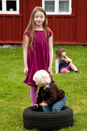 Faroe Island children