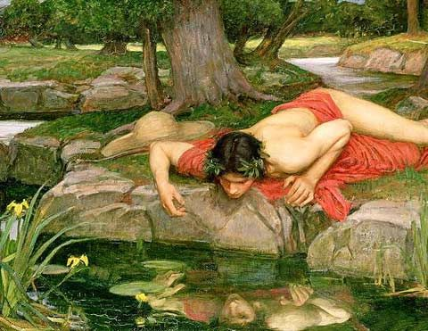 The nymf  Narcissus