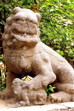 Stone lion from the Liao Empire