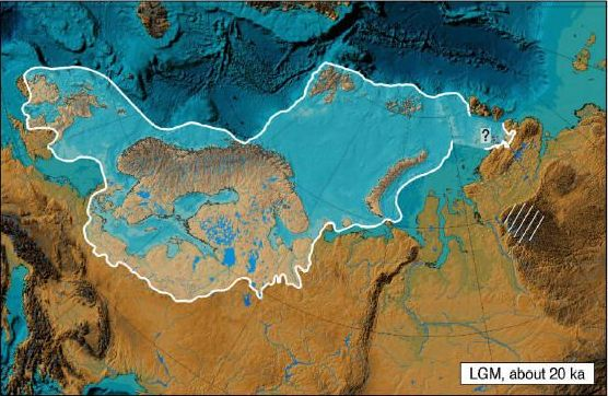 Extension of the Weichsel glaciation during Last Glacial Maximum