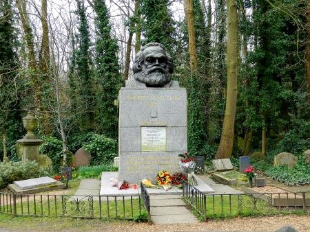 Marx'ss grave in London