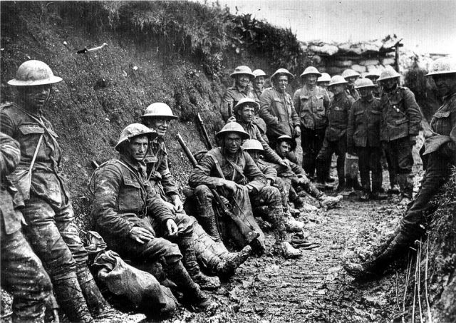 Royal Irish Riffles at Somme July 1916