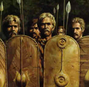 Celts or people of Gaul