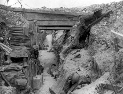 Trench warfare in the first world war - the state asked for very much from the citizens