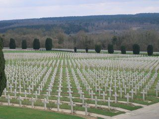 Soldier graves at Verdun - Champs de Bataille