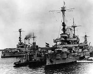 The battleship Schleswig-Holstein opened the second World War by firing on Polish troops in Danzig d. 1. of September 1939