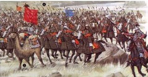 The Mongols attack