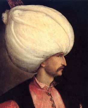 The Turkish Sultan Suleiman the Great
