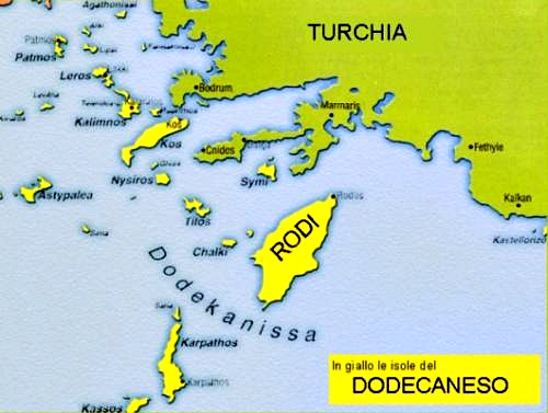 The Dodecanese island group