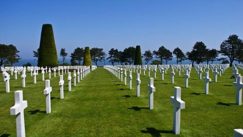 Soldiers graves in Normandy