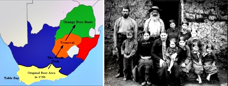 Boer republics and Boer family