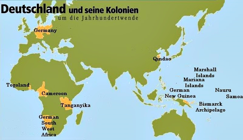German colonies